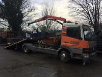 For hire recovery work Hiab forklift vans cars no job too big or small