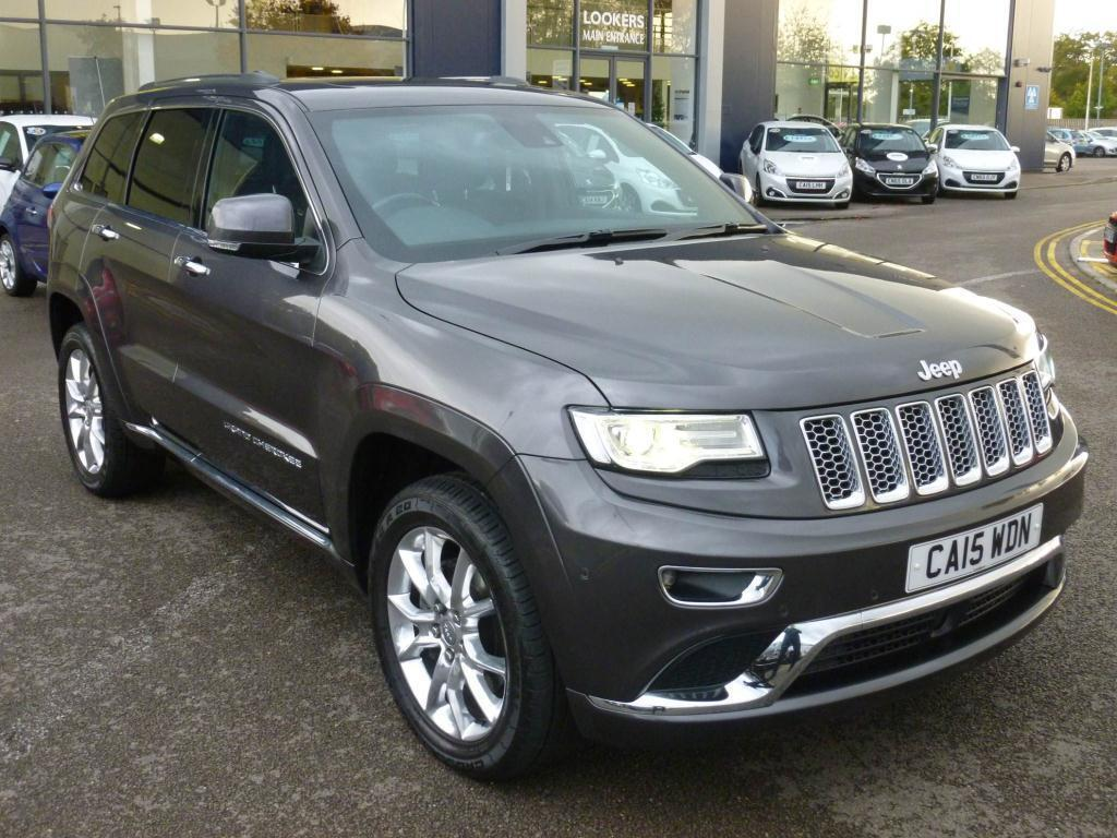 Jeep Grand Cherokee 3 0 Crd Summit 5dr Auto Grey 2015 07