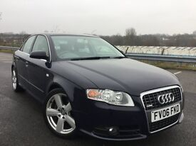 2006 Audi A4 2.0 TFSI S Line 4dr 200 BHP+TWIN EXHAUST+S LINE