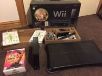 Nintendo Wii fit plus bundle and zumba game