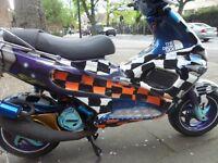 hpi clear Gilera Runner 180cc 2 strock