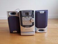 Technika Digital Micro HiFi with dynamic bass reflex speaker system