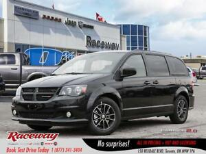 2018 Dodge Grand Caravan GT | DVD | SAFETY GROUP |  0% FIN. OAC