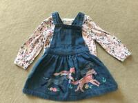 Lots of girls summer dresses and outfits. 6-9 months.