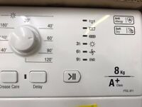 [Ex-Display] Hotpoint (A+ Heat-Pump 8kg) Tumble Dryer - White FTCL871GP
