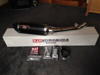 Yoshimura Carbon Single Sports Exhaust.