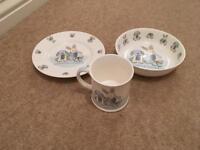 Set of three Mug, plate and Bowl Set