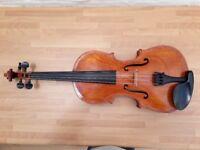 Vintage 19th Century Central European Violin - 4/4