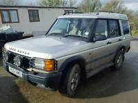 Landrover discovery 51 plate 4x4