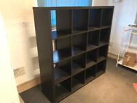 Large Ikea Kallax shelves