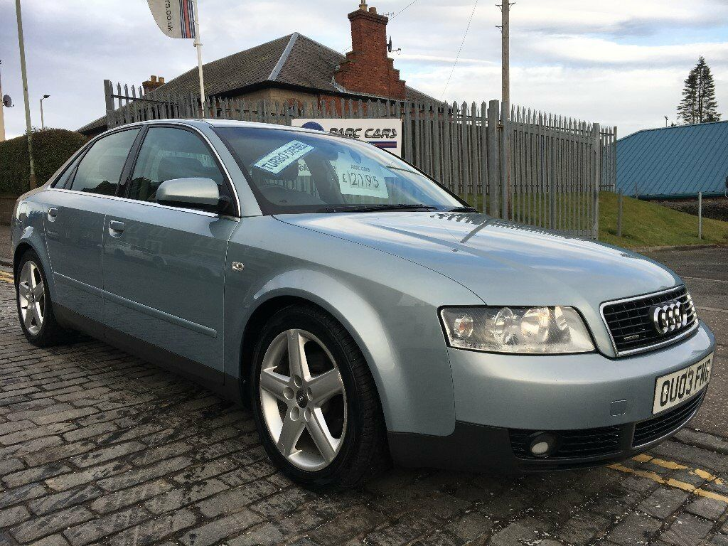 audi a4 1 9 tdi quarttro 130hp sport 03 plate 2003 rare quattro sport diesel with f s h. Black Bedroom Furniture Sets. Home Design Ideas