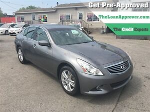2012 Infiniti G37X Sport * AWD * ROOF * LEATHER * CAM