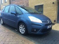 2009 Citroen C4 Picasso 1.6 hdi vtr+ only 57000 miles