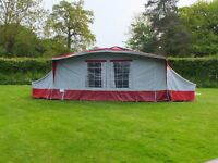 Conway Cruiser Folding Camper Trailer Tent + Awning + Bedrooms + lots of extras