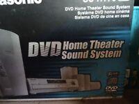 Panasonic DVD home theatre system