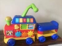 Ride on musical train baby toy