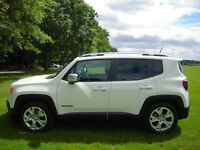 Jeep Renegade Limited Diesel 1.6 Multijet II 120 bhp - 5 Year Extended Warranty 3 Year Service Plan