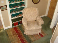 Two Armchairs for sale. generally in good condition and very comfortable. Recliner