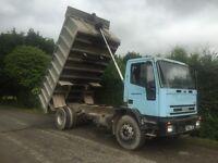 Iveco 18 ton tipper / export / swap 4x4 tractor