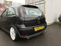 Modified corsa parts
