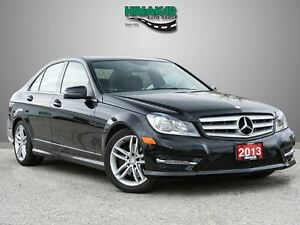 2013 Mercedes-Benz C-Class 300 4MATIC Low Kms.