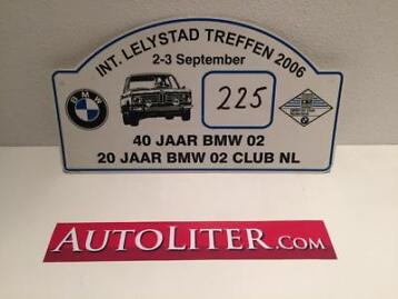 2006 Internationale BMW 02 Treffen Lelystad #225 Schild