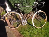 "Restored Retro Puch Super 12 Racing bike - HUGE 25"" frame - Racer / Bicycle / Road bike / Racer"