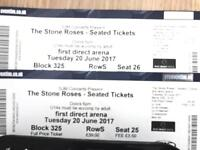 Stone Roses tickets x 2 - Leeds 20.06.17