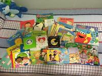 Start your baby's book library