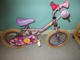 "(Girl's Bike) 9"" Frame (Like new******"