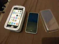 APPLE IPHONE 5C 8GB UNLOCKED BOXED AS NEW £100 O.N.O