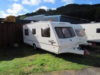 Bailey Pageant Bordeaux 4 Berth Fixed Bed Touring Caravan