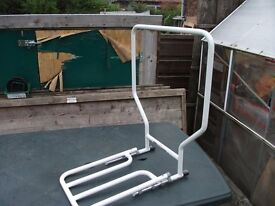 tubular metal - bed assist frame for gettin in & out of bed