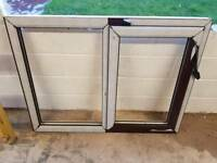 UPVC Window (brown)