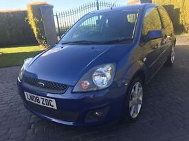 \\\ 08 FORD FIESTA ZETEC BLUE \\\ SPECIAL EDITION ONLY 72K \\\ £2300