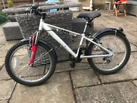 "Children's Bike, 20"", silver revolution ideal for 6-8 year olds. Great Condition."