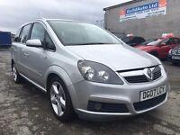 2007 Vauxhall Zafira 1.9 CDTi 16v SRi 5dr / 3 Month Warranty / HPI CLEAR / DIESEL