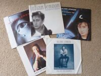 "5 Julian Lennon 7"" vinyl singles with picture sleeves"