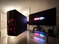 Gaming PC / i3-7100 / GT 740 / NVMe M.2 SSD / HDD / DDR4 / WiFi / Bluetooth