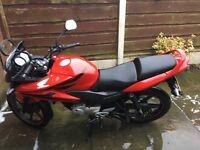 Honda CBF 125, great condition low mileage!