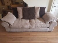 3 Seater Scatterback Sofa and Chair