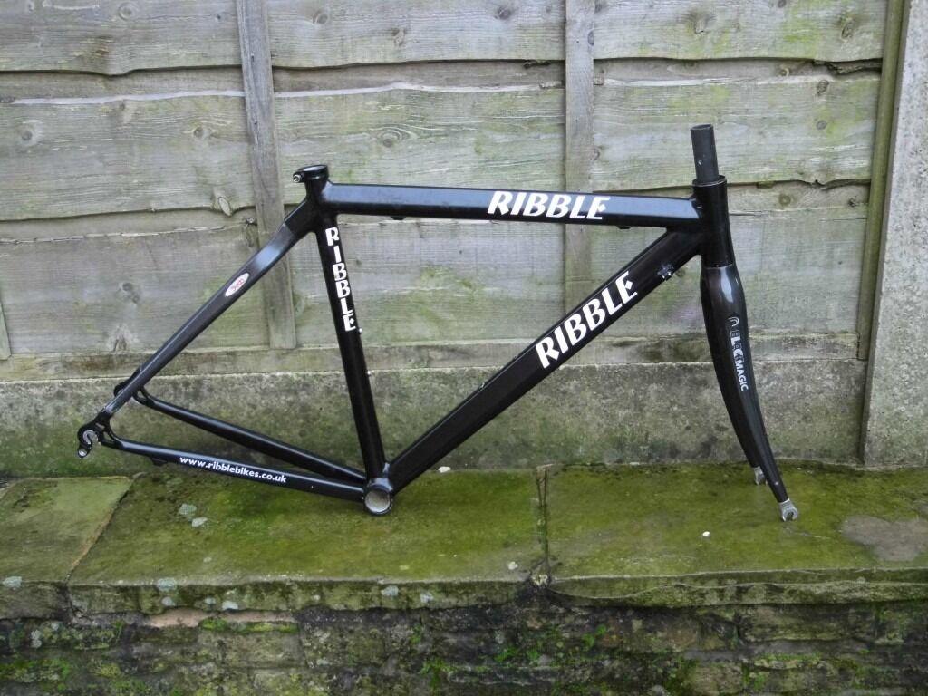 Ribble carbon composite road bike frame 1175g 47cm 700c - scandium ...