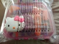 Brand New Hello Kitty Hair Care Case Ideal Xmas Present