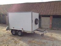 New Tickner GT85 Box Trailer