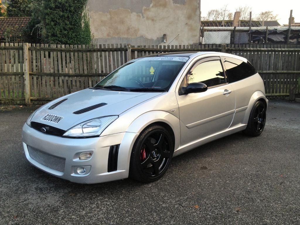 2000 ford focus rs mk1 replica tdci 89 000 miles 12 months mot in kimberley. Black Bedroom Furniture Sets. Home Design Ideas