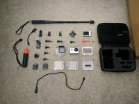 Gopro hero 3 black (with accessories) ONO