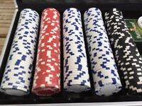 Pro Poker professional 500 poker chips set