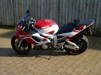Yamaha R6 2001