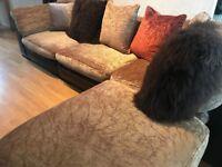DFS, Tetrad, Hemmingway / Hemingway Leather Sofa Corner Delivery