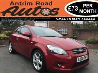 2008 KIA PRO CEE'D 2.0 SPORT CRDI ** LOW MILES * SERVICE HISTORY * FINANCE AVAILABLE WITH NO DEPOSIT